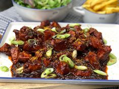 kip in cola met seroendeng en bosui - Powered by Low Carb Vegetarian Recipes, Healthy Crockpot Recipes, Beef Recipes, Punch Recipes, Recipies, Healthy Chicken Dinner, Healthy Meals For Kids, Indian Food Recipes, Asian Recipes
