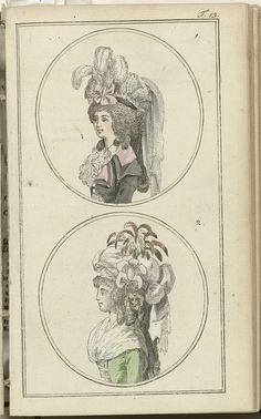 Journal des Luxus und der Moden 1788, Band III, T.13, Friedrich Justin Bertuch, 1788