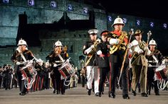 Military Bands around the world Europe Band, Military Tattoos, Picture Tattoos, Edinburgh, Around The Worlds, United States, Pictures, Bands, Ideas