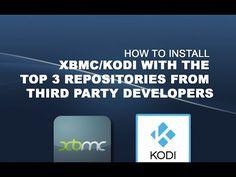 Install Top 3 Repositories on XBMC or Kodi - YouTube