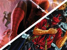Sobre reler seu super-herói predileto; Deadpool sendo engraçado; e sommelier de papel de gibi