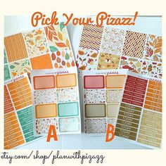 It's Pick your Pizazz Friday! Get 3 sheets for $5! While you're at it if you have $10 in your cart use CYNTHIA20OFF! Hurry while supplies last!