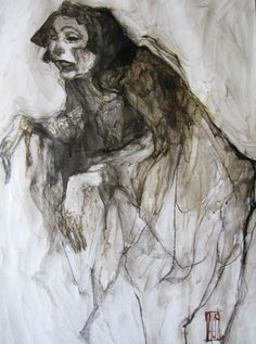 butoh danse (65X50)/Aurore Lephilipponnat