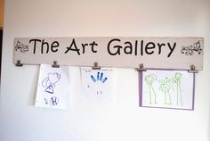 Hey, I found this really awesome Etsy listing at https://www.etsy.com/listing/221484015/childs-art-display-kids-art-hanger