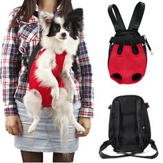 Pet Back Packs, Front Carriers and Bicycle Baskets | WebNuggetz.com