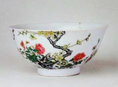 Prunus and Rose bowl. Collection of the Palace Museum, Beijing