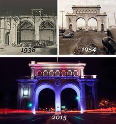 Los Arcos de Guadalajara Guadalajara: Antes y Después