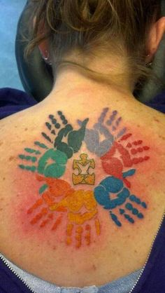 The Best Autism Awareness tattoo ever!!