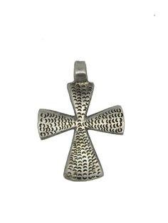 "Ethiopian Coptic Cross Pendant (1.6"" X 1.4"")"