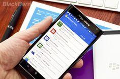Лучшие приложения для BlackBerry Priv за прошедшую неделю