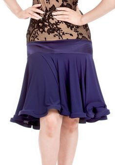 DSI Halie Latin Dance Skirt 3345   Dancesport Fashion @ DanceShopper.com