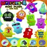 Weirdos Mini Plush With Hook 2 inch capsules