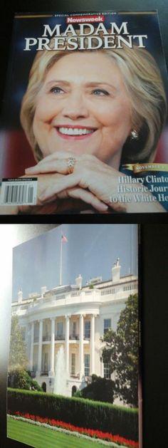 Hillary Clinton: Newsweek Madam President Hillary Clinton Recalled Magazine Commemorative Nov 16 -> BUY IT NOW ONLY: $75 on eBay!