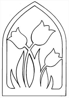 Kirigami, Coloring Books, Coloring Pages, Scroll Saw Patterns, Spring Crafts, Craft Patterns, String Art, Flower Crafts, Diy Crafts For Kids