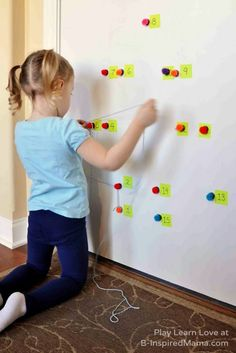 Do your kids like Dot-to-Dots?  How about GIANT ones?!  -  Counting Practice - Giant Holiday Dot-to-Dot Counting Games at B-InspiredMama.com #kids #learning #preschool #kbn
