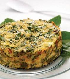 Pastel de arroz - Treatment Tutorial and Ideas Breakfast Recipes, Snack Recipes, Cooking Recipes, Healthy Recipes, Snacks To Make, Easy Snacks, Risotto, Deli Food, Tasty