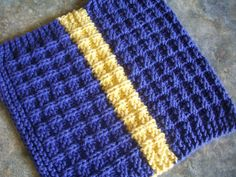 Waffle Knit DishCloth