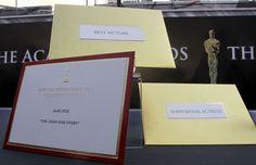 83rd Academy Awards Winners Envelope