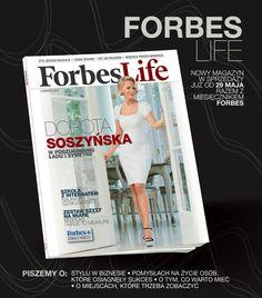 """Forbes Life to nowy na polskim rynku magazyn o ludziach biznesu, ich stylu oraz pasjach. W kioskach już od 29 maja razem z miesięcznikiem """"Forbes""""! Tego samego dnia zaprezentujemy też nasze internetowe oblicze!"""