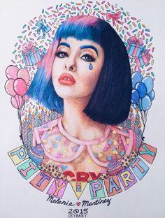 ❤Kawaii Love❤ ~Melanie Martinez fan art cry baby pity party