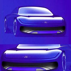 "DC Design on Instagram: ""Bluuuuuuuu VW from @c_ar.tist_ #cardesign #cardesignconcept #illustration #sketch #automotivedesign #automotivesketch #autodesign…"" Car Interior Design, Automotive Design, Exterior Design, Auto Design, Car Design Sketch, Car Sketch, Cool Sketches, Transportation Design, Sport Cars"