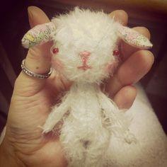 bro-rabbit -mohair doll