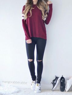 Cute fashion outfits ideas - Fashion, Home decorating Teenage Outfits, Teen Fashion Outfits, Mode Outfits, Girly Outfits, Cute Casual Outfits, Cute Fashion, Look Fashion, Outfits For Teens, Fall Outfits