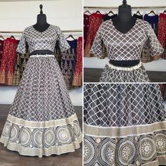 Grey net heavy lucknowi work wedding lehenga choli