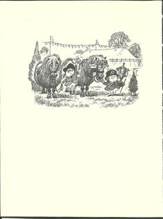 """lost a shoe, Lost the trophy""  --  Thelwell's Original Vintage Pony Horse Mount Cartoon Print 1964 Comical"