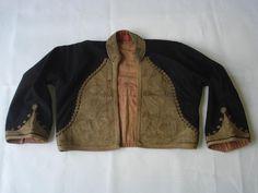 19C. TURKISH OTTOMAN COSTUME HAND EMBROIDERED VEST YELEK w/GOLDEN THREAD | eBay