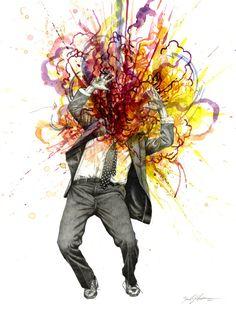 Zachariah Johnsen explosiones de color - Cultura Colectiva