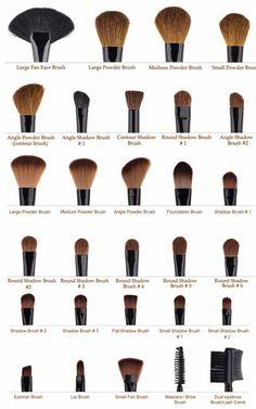 Eyebrow Makeup Tips, Makeup Tutorial Eyeliner, Eye Makeup Steps, Makeup Guide, Contour Makeup, Eyeshadow Makeup, Face Makeup, Blush Makeup, Oily Skin Makeup