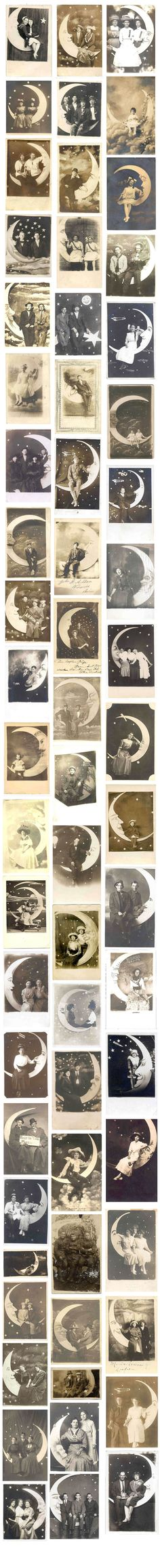 Sitting on a paper moon, 1910s-1940s Retronaut   Retronaut - See the past like you wouldn't believe.