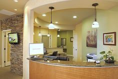 Dr. White dental office reception desk | Flickr - Photo Sharing!