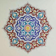 Islamic Patterns in art. Islamic Art Pattern, Arabic Pattern, Pattern Art, Motif Oriental, Arabesque Pattern, Turkish Art, Arabic Art, Islamic Art Calligraphy, Motif Design
