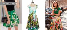 Sewing Inspiration: tropical print skirts and dresses Refashion, Sewing Ideas, Dress Skirt, That Look, Tropical, Google, Skirts, Pattern, Inspiration
