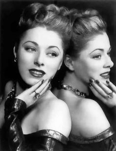 Eleanor Parker, 1951- The wickedly wonderful Baroness Von Scharder was a terrific actress and a true Hollywood beauty as well. Everyone should see her in Caged and Interrupted Melody!