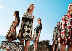 Clémentine Deraedt for the Valentino Spring 2015 Campaign | Blog D'management Group