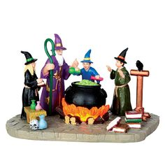 Lemax Spooky Town Collection The Sorcerer's Apprentice Decorative Collectibles #Halloween #Spooky