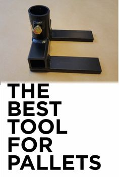 WARNING.... You maybe addicted to tearing apart pallets with this tool. Pallet Furniture Prybar Tool Breaker Wood Demo Re-Claimer Heavy-Duty Deck Tool Removal Skid Buster Model P1B. #ad