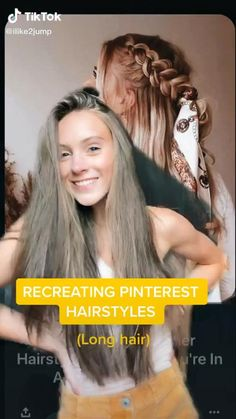 School Picture Hairstyles, Cute Hairstyles For Medium Hair, Teen Girl Hairstyles, Cute Hairstyles For School, Sporty Hairstyles, Cute Simple Hairstyles, Medium Hair Styles, Long Hair Styles, Simple Homecoming Hairstyles