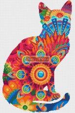 Mandala cat No1