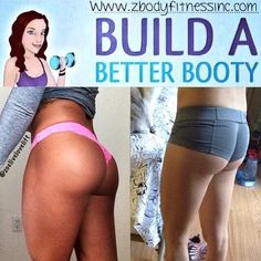 Build a Better Booty Program   http://shop.zbodyfitnessinc.com/products/build-a-better-booty-program   Why is this program awesome?      Everyone from beginner to advanced exercisers can do it     Instant Digital Download     This program can be done at home     No extra equipment is needed except for a set of dumbbells     Simple and modern exercise techniques     The program only needs to be done 2x-3x's a week     Desgined by Zoe Rodriguez ISSA (International Sports Sciences Association)…