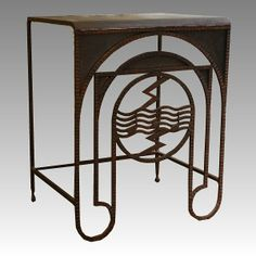 Wrought Iron table, c. 1925