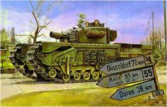 (Assault Vehicle, Royal Engineers), Assault Brigade Royal Engineers, Armoured Division - H.Sasaki & T. Ww2 Pictures, Military Pictures, M10 Wolverine, Armoured Personnel Carrier, Armored Fighting Vehicle, Cool Tanks, Ww2 Tanks, World Of Tanks, Panzer