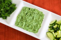 Spinach and Cumber Spread or Dip