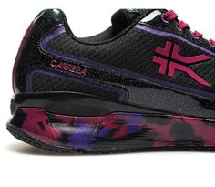 NOW SHIPPING: All-New Colorful CARRERA! BE AT THE TOP OF YOUR GAME  Who says being sweaty isn't pretty? Whether your workout style is kickboxing or dance aerobics, you'll look strong and feminine with the new women's CARRERA.  Be happy this new year in the all-new women's CARRERA!   www.kurufootwear.com