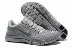 huge discount 07838 c5eaa Nike - Free 3.0 V4 Mens running Shoes - light greydpKLr 1 Gris Gris, Hombres