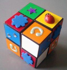 Rubik's Cube 4 x 4. Repin from Site enfant-aveugle.