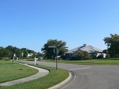 Another street shot in our Coconut Creek subdivision in Fort Myers, Florida.